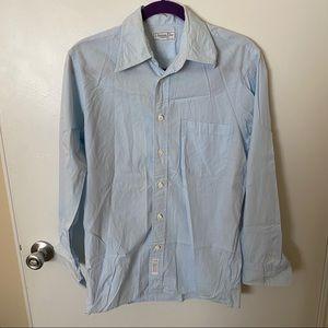 Christian Dior Light Blue Button Down Shirt